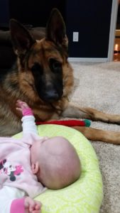 Boaz 12-13-14 and his baby